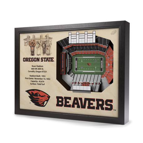 Oregon State Beavers // Reser Stadium