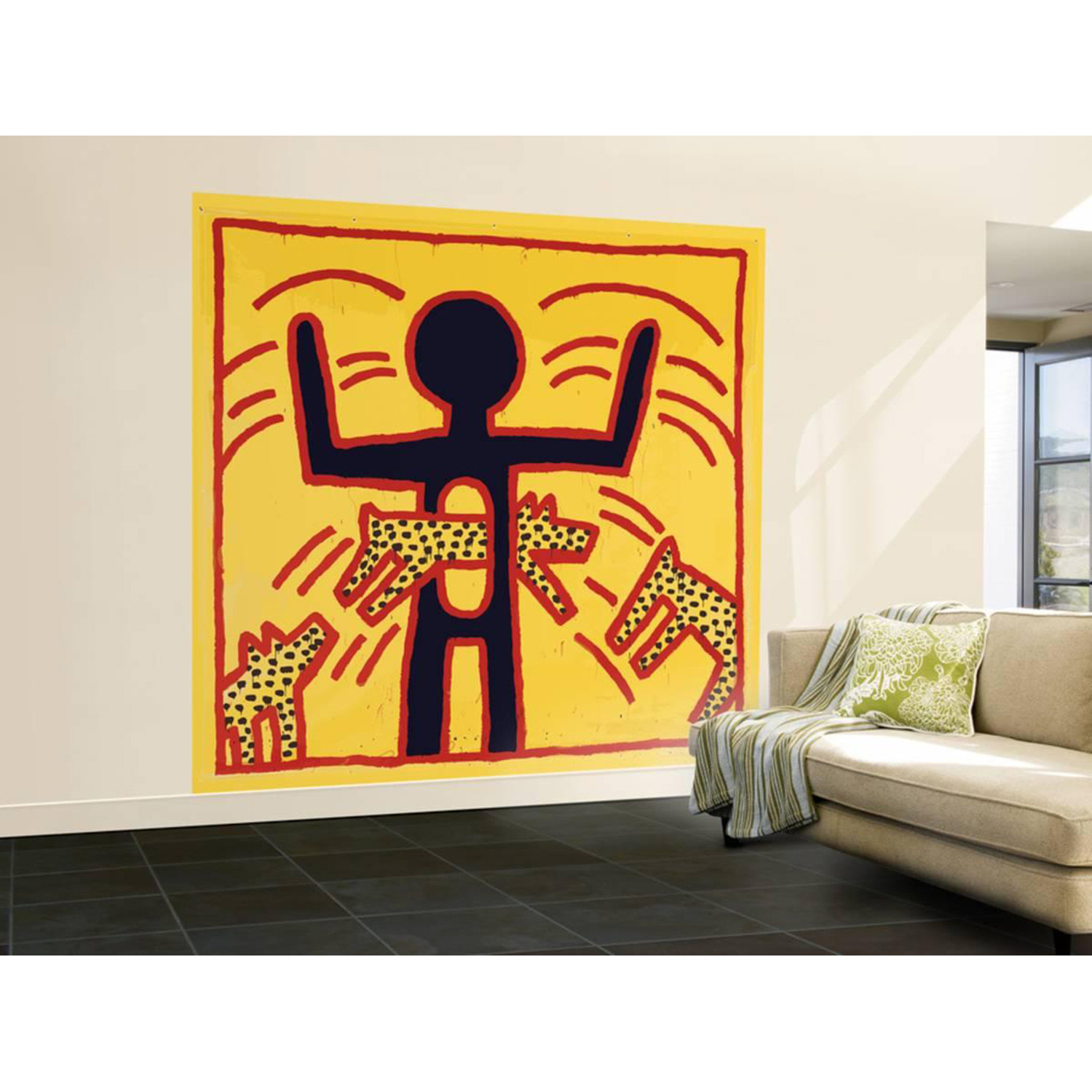 Haring - Untitled October 1982 Private Collection (48\
