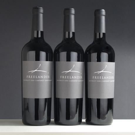 Freelander District One California Cabernet Sauvignon 2016 // 3 Bottles