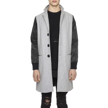 Hybrid Overcoat // Grey