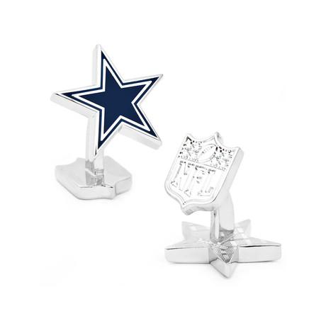 Palladium Edition Dallas Cowboys Cufflinks