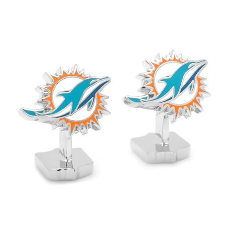 Palladium Miami Dolphins Cufflinks
