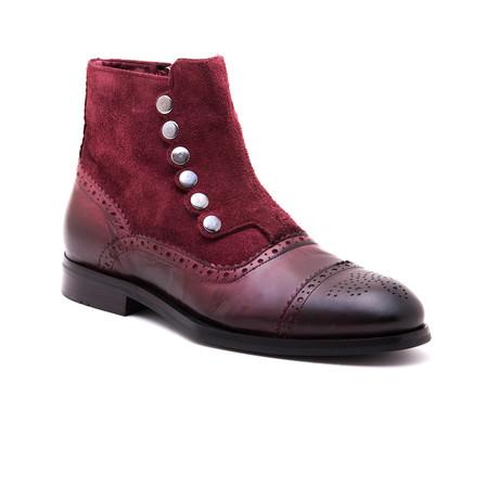Drop Boot // Bordeaux