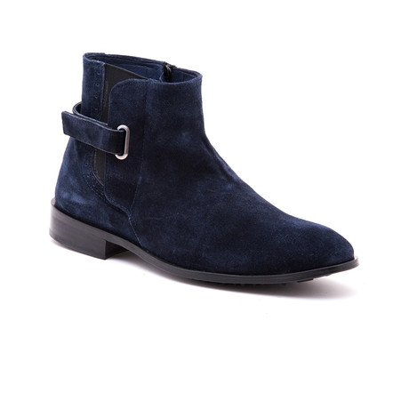 Faruk Patch Boot // Navy (Euro: 39)