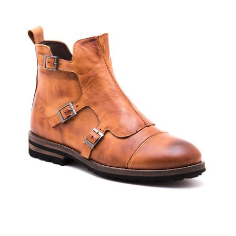 Faruk Rock Boot // Light Brown (Euro: 39)