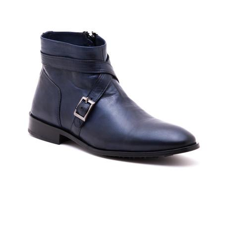 Faruk State Boot // Navy (Euro: 39)
