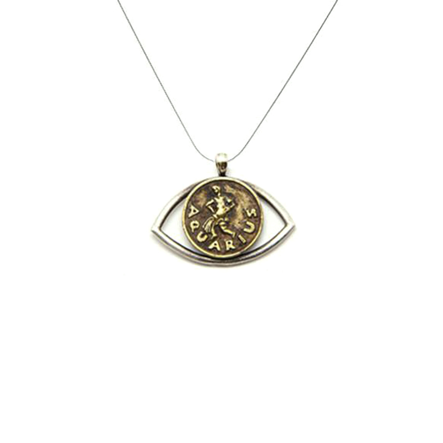 alternate francesca clalternate zodiac cl aquarius g do charm gold product necklace s