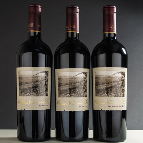 Frank Family Winston Hill Cabernet Sauvignon 2006-2008 Library Vertical // 3-Pack