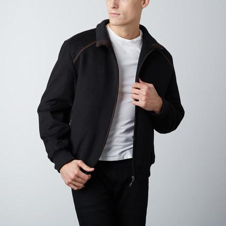 Paolo Lercara // J390 RGB Bomber Jacket // Black (S)