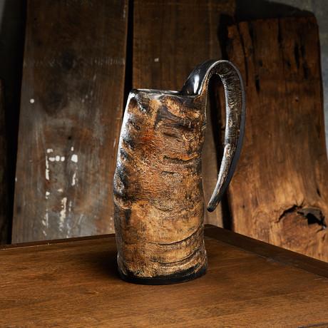 Vintage Horn Drinking Mug (Small)