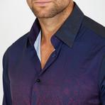 O'Brien Long-Sleeve Button-Up Shirt // Aubergine (S)