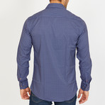 Jasper Long-Sleeve Button-Up Shirt // Blue (S)