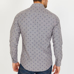 Hal Long-Sleeve Button-Up Shirt // Stone Gray (M)