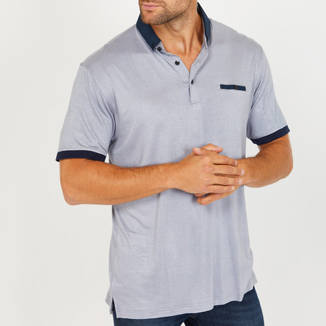 Thorsten Polo Shirt // Light Grey (S)