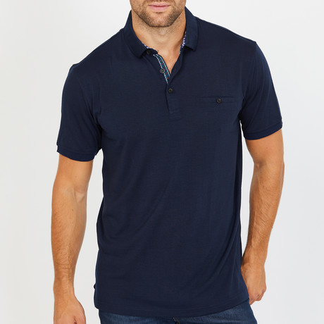Walt Polo Shirt // Navy (S)