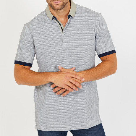 Darnell Polo Shirt // Stone Grey (S)