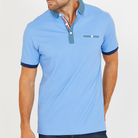 Herlie Polo Shirt // Baby Blue (S)