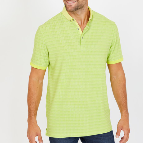 Cornelius Polo Shirt // Light Lime (S)