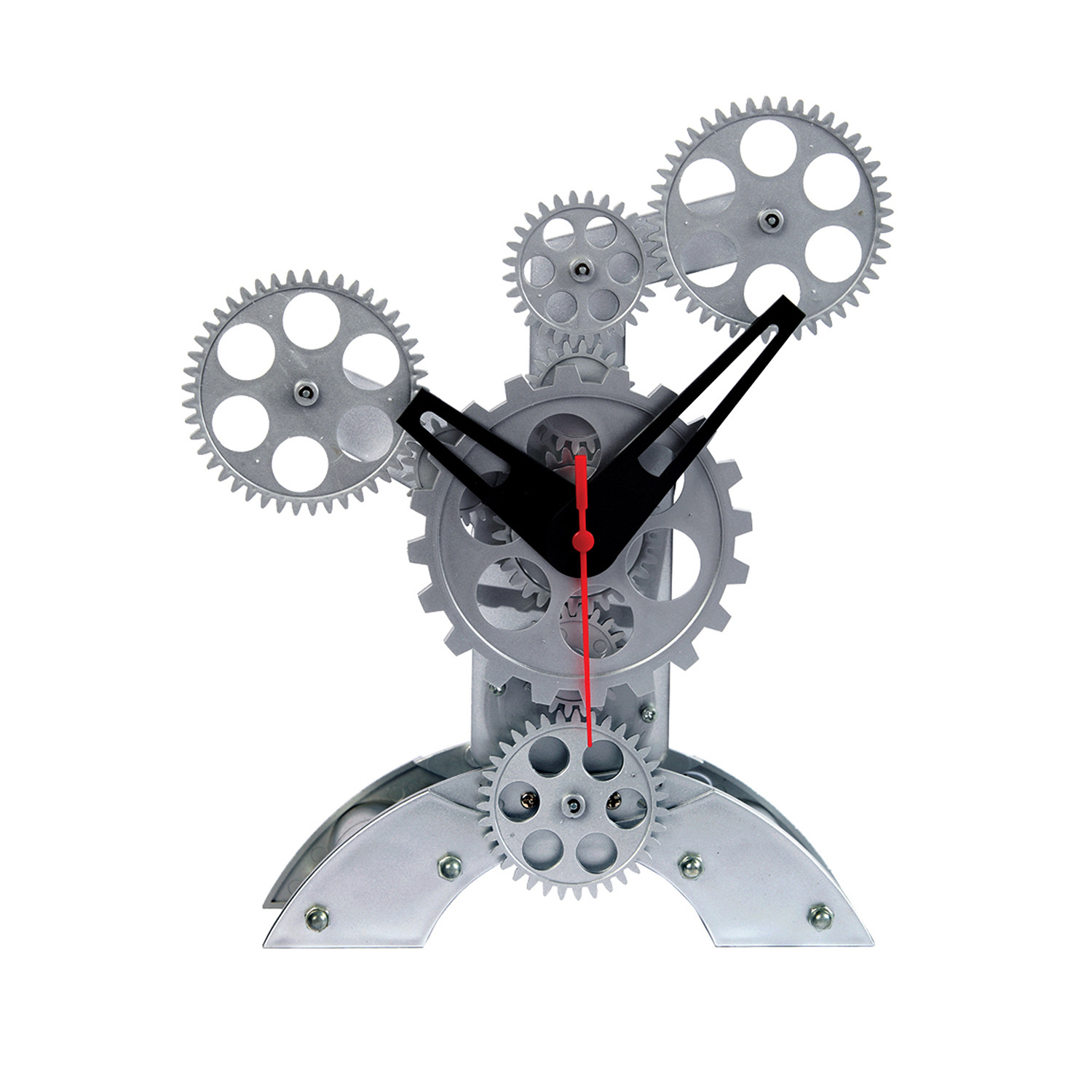 Moving gear table clock abstract design maples clocks moving gear table clock abstract design gamestrikefo Gallery