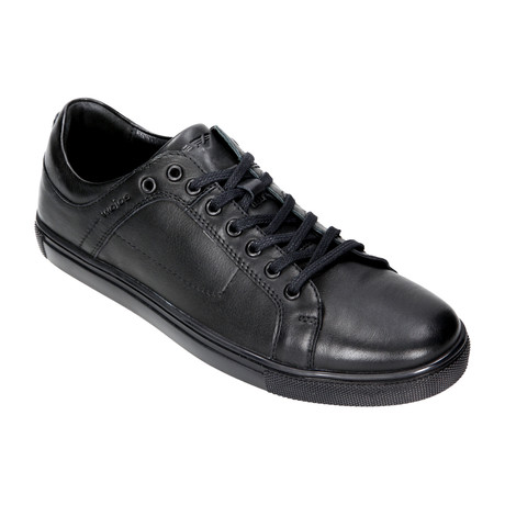 Thick Soled Lace-Up Sneaker // Black (Euro: 40)