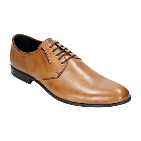 Slim Plain Toe Derby // Light Brown (Euro: 40)