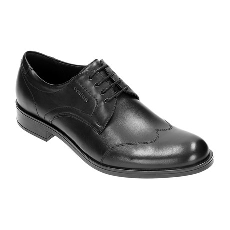 Stitched Wingtip Derby // Black (Euro: 40)