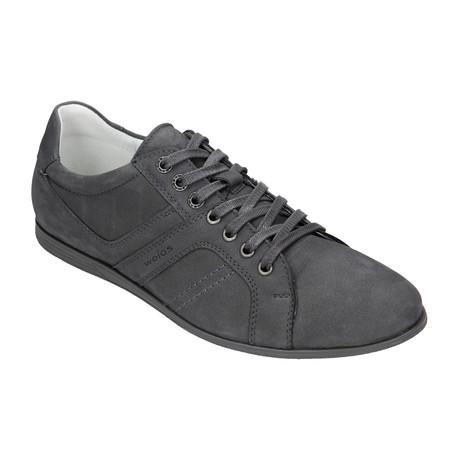 Nubuck Lace-Up Sneaker // Grey (Euro: 40)
