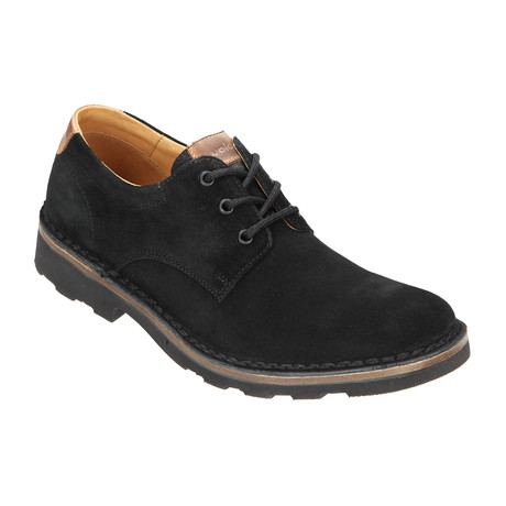 Suede Lug Sole Derby // Black (Euro: 40)