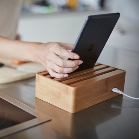 Alldock Medium // Bamboo (No Cables)