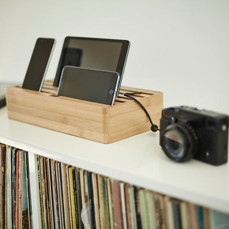 Alldock Large // Bamboo (No Cables)