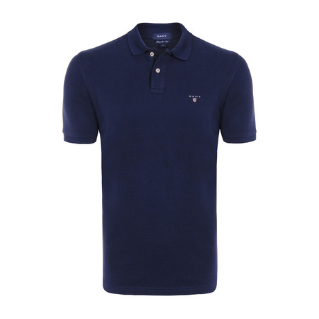 Gant Short Sleeve Polo // Navy (S)