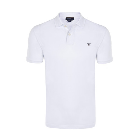 Gant Short Sleeve Polo // White (S)