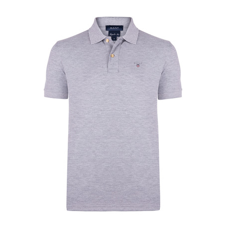 Short Sleeve Polo // Grey (L)