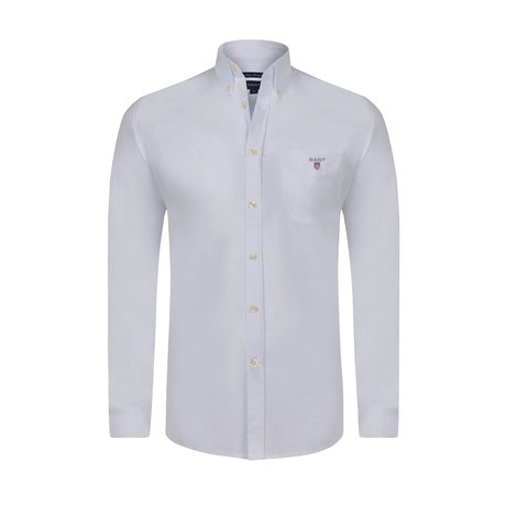 Gant Button-Up Shirt // White (M)
