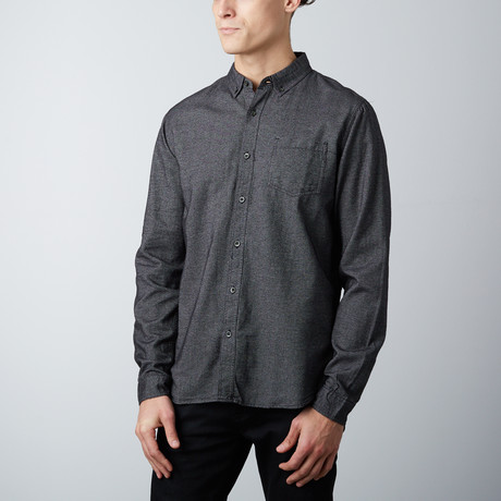 Roland Chambray Shirt // Black (S)