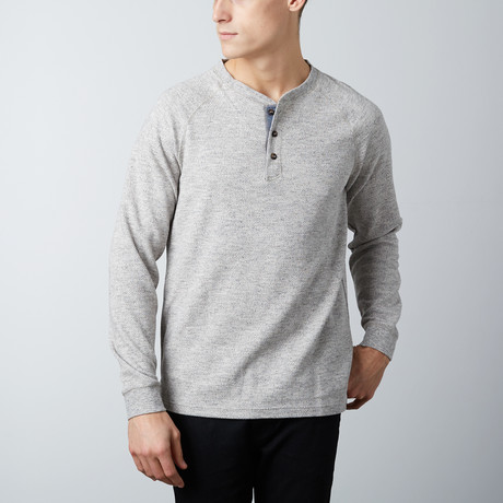 Tommy Henley Tee // Gray Heather (S)