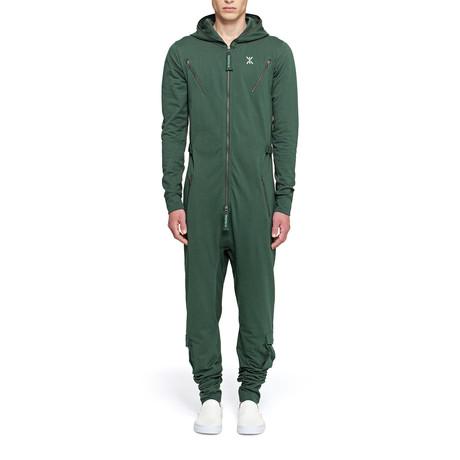 Air Jumpsuit // Jungle Green (S)