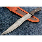 Damascus Hunting Knife // HK-1