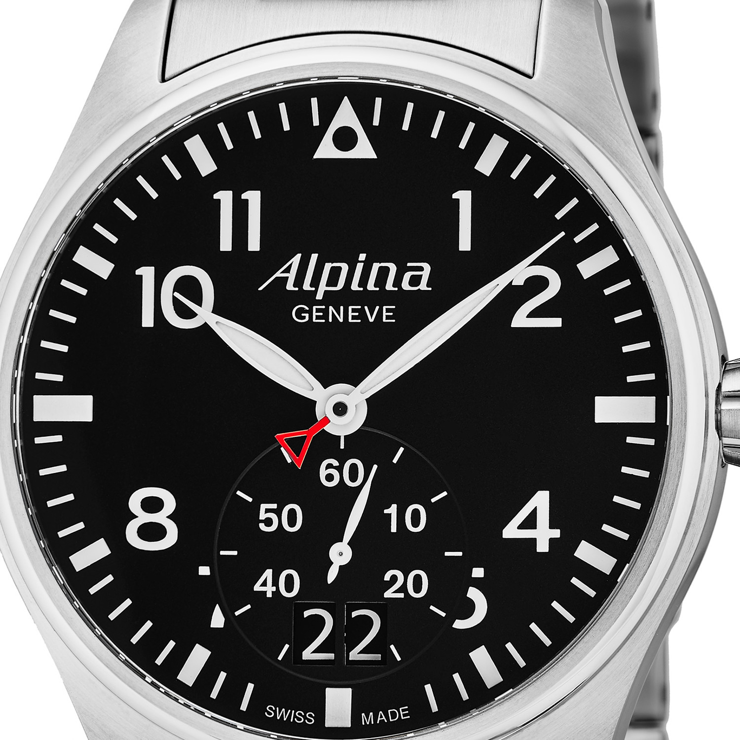 alpina startimer pilot quartz al 280b4s6b alpina touch of modern. Black Bedroom Furniture Sets. Home Design Ideas