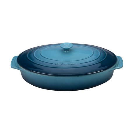 Covered Oval Casserole (Marine)