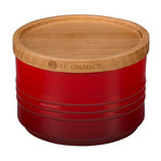 Canister with Wood Lid // 12 oz (Marine)