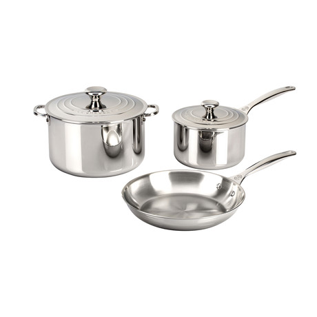 Stainless Steel Set // 5 Piece