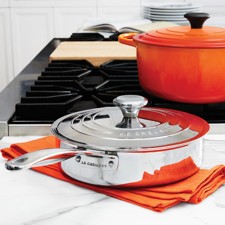 Sauté Pan // Helper Handle + Lid (3 qt.)