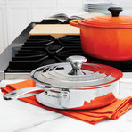 Sauté Pan + Helper Handle + Lid
