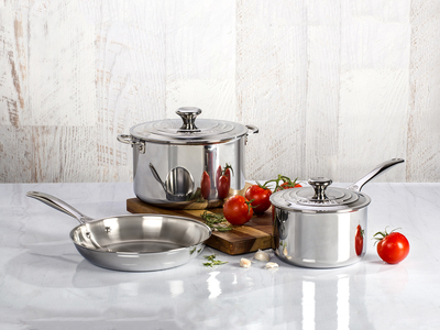 Photo of Le Creuset Professional Stainless Steel Cookware Stainless Steel Set // 5 Piece by Touch Of Modern