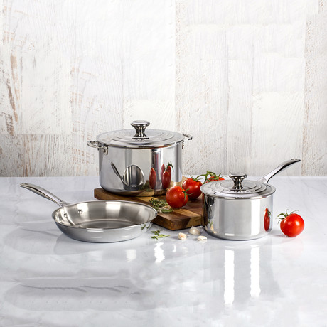 Stainless Steel Set // 5 Piece Set