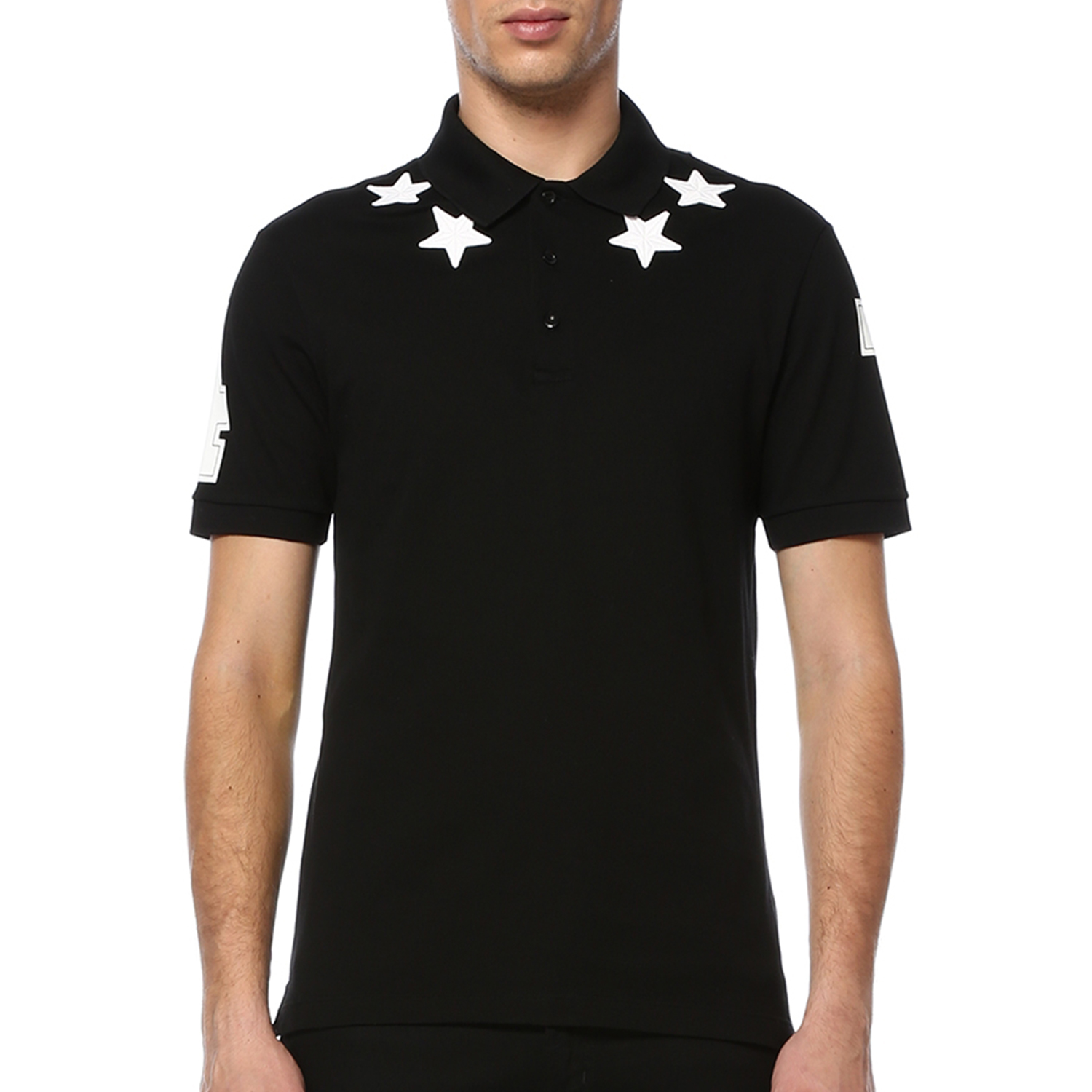 832f6f47 Givenchy Stars and 74 Details Polo // Black (M) - Kenzo, Givenchy ...