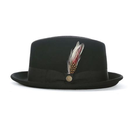 Alphonse Grosgrain Hat // Black