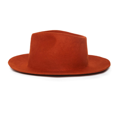 George Nude Hat // Terracotta (L)