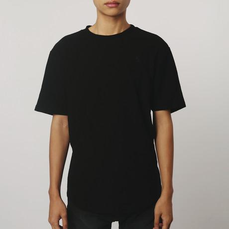 Reverse Terry T-Shirt // Black (S)